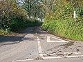Entrance to Crosslands Road, Llanteg - geograph.org.uk - 1002887.jpg