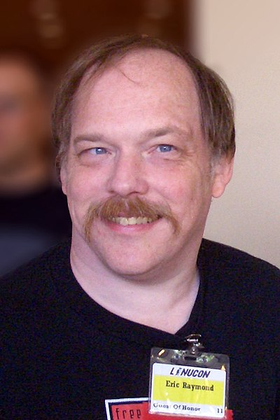 Eric S. Raymond, American computer programmer, author, and advocate for the open source movement