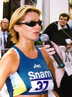 Erica Alfridi Italian race walker