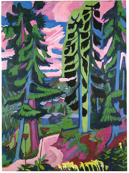 File:Ernst Ludwig Kirchner - Wildboden,  Bergwald - 1927-28.jpg