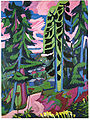 Ernst Ludwig Kirchner - Wildboden, Bergwald - 1927-28.jpg