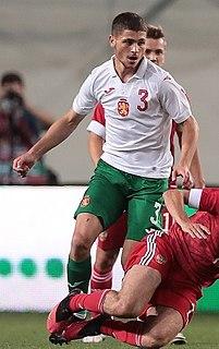 Ertan Tombak Bulgarian footballer