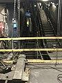 Escalators en réparation - accès RER A à la gare de Lyon (Paris, France).JPG
