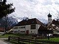 Eschenlohe - Gutshof, Kirche.jpg