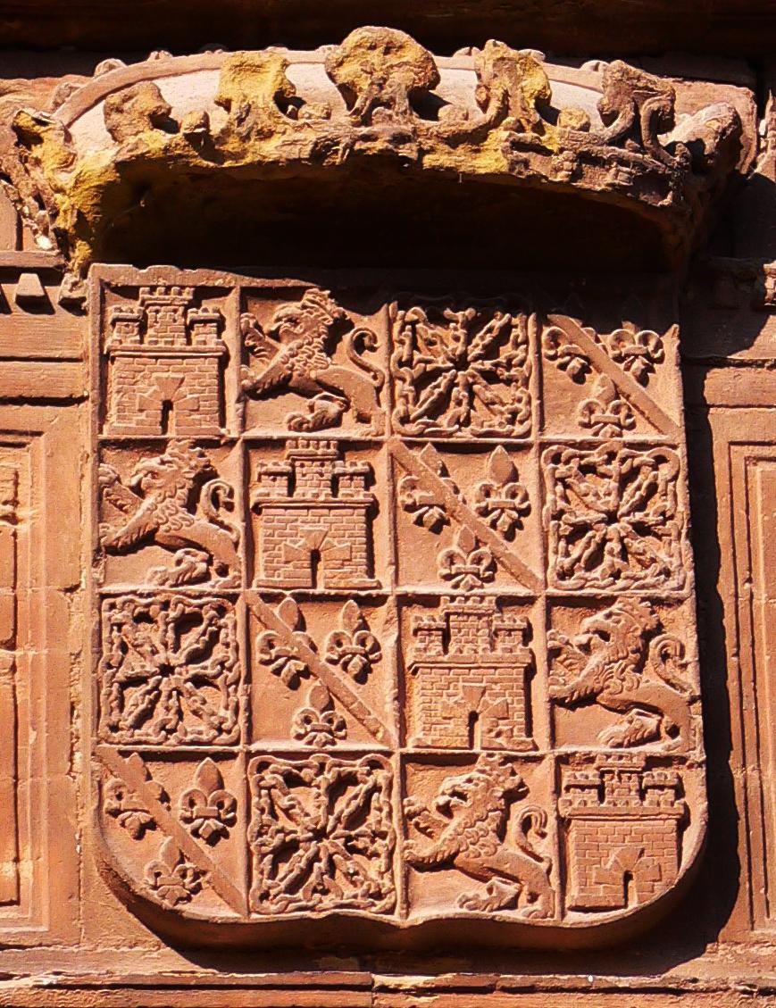 Escudo de Castilla y Navarra en Najera