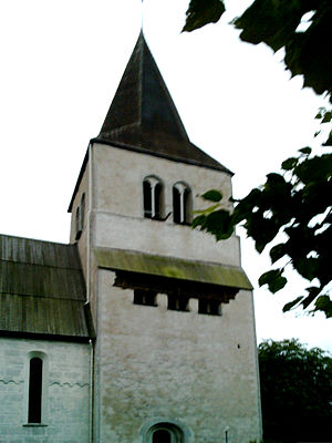 Eskelhem Church - Eskelhem Church, external view