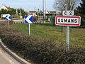 Esmans-FR-77-panneau d'agglomération-02.jpg