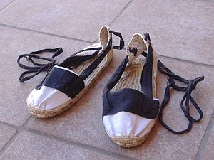 Sardana - Espardenya: traditional shoes used to dance sardanes