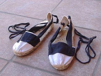 Sardana - Espardenya: traditional shoes used to dance sardanes