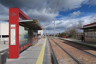 Ciudad de la Imagen (Madrid Metro) - Image: Estación de Ciudad de la Imagen