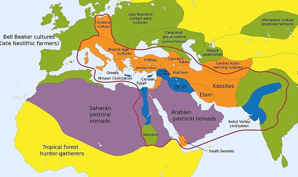Eurasia & Northern Africa 2000 BC