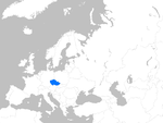 Europe map czechia.png