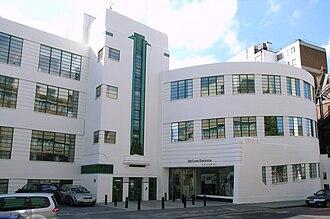 Daimler Hire - former Daimler Hire garage in Bloomsbury, London, now offices of McCann Erickson