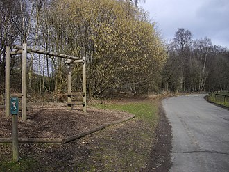 Trosley Country Park - Exercise equipment within Trosley Country Park
