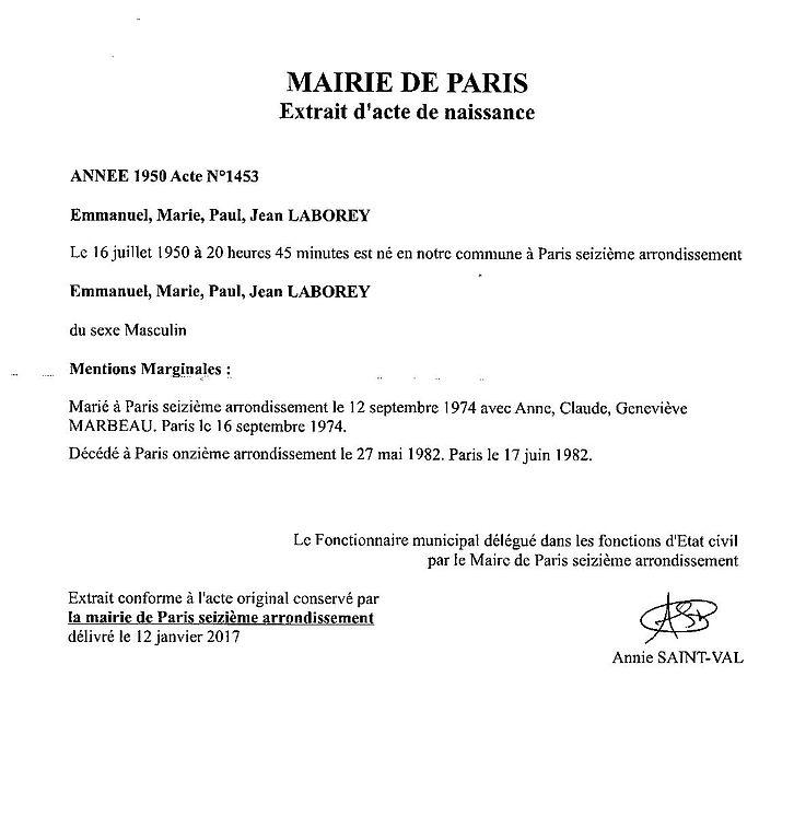 c2512183bca24 Fichier Extrait d acte de naissance d`Éric Laborey.jpg — Wikipédia