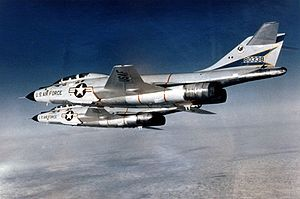 18th Aggressor Squadron - Two 18th FIS F-101s in the 1960s.