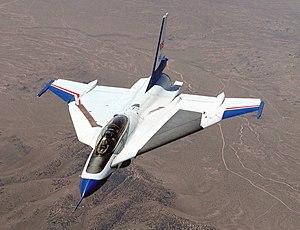 General Dynamics F-16XL - A NASA F-16XL conducting laminar flow research