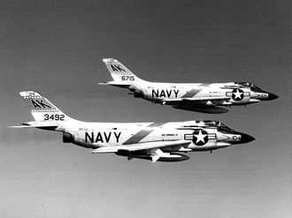 McDonnell F3H Demon - F-3Bs of VF-13 in 1963
