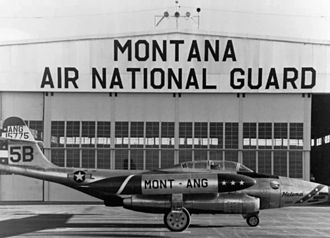 186th Airlift Squadron - Northrop F-98C Scorpion 51-5775, about 1957