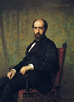 F. de Madrazo - 1879, Nicolás Salmerón (Congreso de los Diputados, Madrid, 131 x 96 cm).jpg