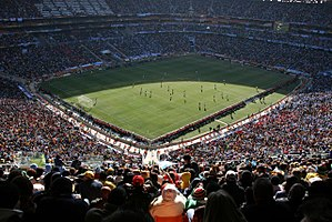 2010 FIFA World Cup Final - The final was played at Johannesburg's Soccer City