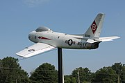 FJ-3 Fury located at Clark regional airport, Clark county Indiana.jpg