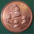 FRANCE, LOUIS XIV-FIFTY YEARS KING MEDALLION 1693 b - Flickr - woody1778a.jpg