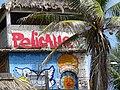 Facade of Pelicano Beach Lodge - Zipolite - Oaxaca - Mexico (14983142224).jpg