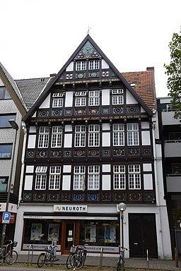 Dielingerstraße in Osnabrück