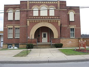 Fallston, Pennsylvania - Fallston's municipal building
