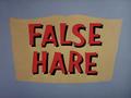False Hare title card.png