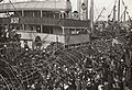 Farewell to the troopship BARAMBAH (7978383148).jpg