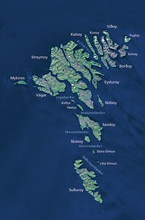 Geography of the Faroe Islands