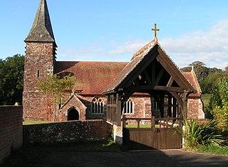 Farringdon, Devon - St Petrock's church, Farringdon
