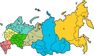 Føderale distrikter i Rusland
