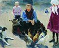 Feeding chickens by Ivan Kulikov.jpg