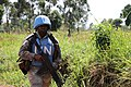 Female combat troops of South African Contingent in MONUSCO on robust foot and moblile patrols 60.jpg
