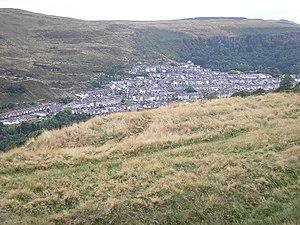 Ferndale, Rhondda Cynon Taf - Image: Ferndale, Rhondda Valley geograph.org.uk 52041