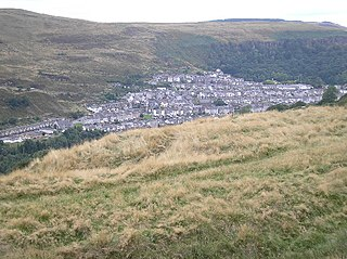 Ferndale, Rhondda Cynon Taf Human settlement in Wales