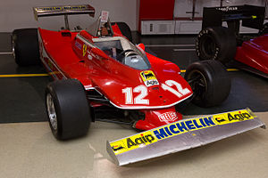 1979 Formula One season - Ferrari won the International Cup for F1 Constructors with its 312T3 and 312T4 (pictured) models.