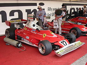 1975 Formula One season - Ferrari won the 1975 International Cup for F1 Manufacturers with the 312B3 and the 312T (pictured)