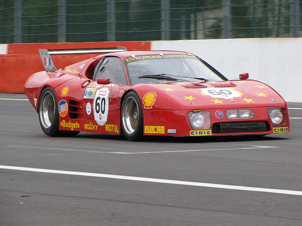 Ferrari 512 BB LM in Spa 2009