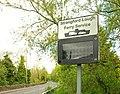 Ferry information sign near Downpatrick - geograph.org.uk - 1310001.jpg