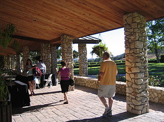 Los Olivos, California - Fess Parker winery, Los Olivos