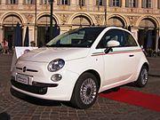 Fiat 500 (2007) in Turin