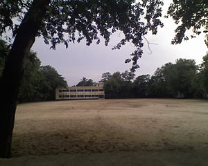 Cox's Bazar Government High School - Image: Field & hostel