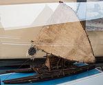 Fiji, sailing boat, model in the Vatican Museums.jpg