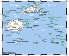 Outline Of Fiji Wikipedia - Republic of fiji map