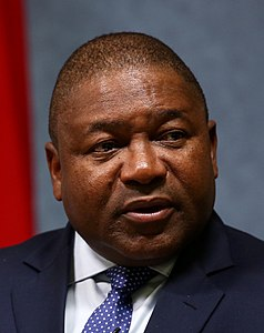 Filipe Nyusi, President, Republic of Mozambique - 2018 (40689535485) (cropped).jpg