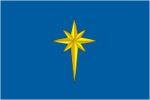 Zvyozdny, Perm Krai - Image: Flag of Zwezdny (Perm krai)